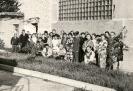 Коллектив ж/д цеха совместно с представителями  других цехов на  50 -летии Дорогановой Тамары Николаевны.