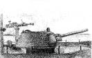 Новая артиллерийская башня и крупнокалиберные пулемёты ДШК на морском бронекатере № 504. Рисунок с натуры.